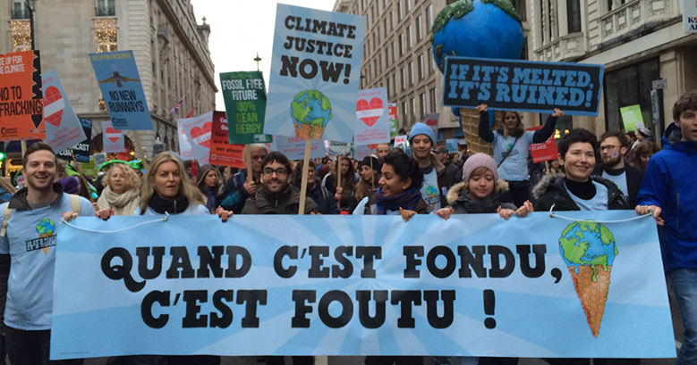 Global Climate March Brings Together 175 Countries for Climate Change