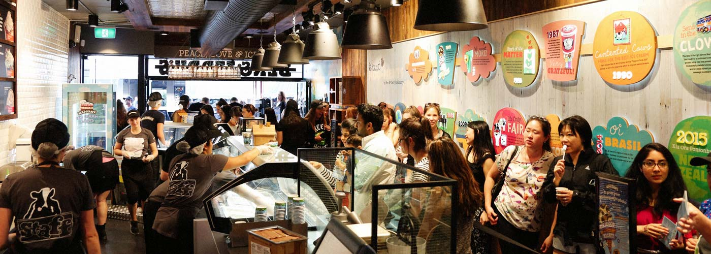 Ben & Jerry's ice cream franchises are proven and profitable