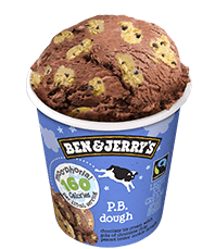 P.B. Dough Moo-phoria Light Ice Cream