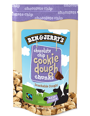 Chocolate Chip Cookie Dough Bag