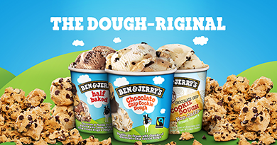 Explore all of our Dough-licious Cookie Dough Flavours...