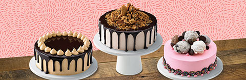 Ben & Jerry's Scoop Shop Cakes