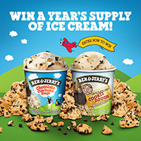 WANT TO WIN A YEAR'S SUPPLY OF ICE CREAM?!