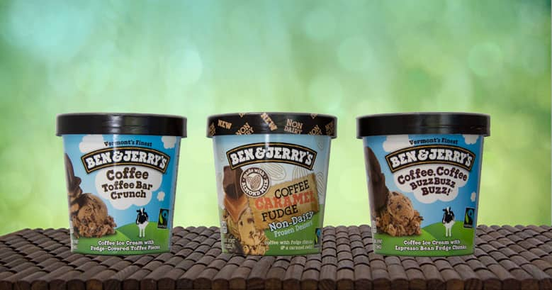 Ben & Jerry's - Coffee Flavours