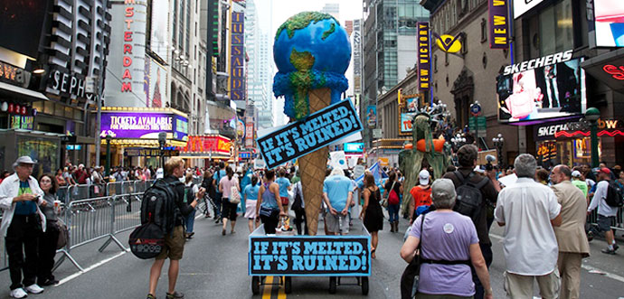 Ben & Jerry's marches for action on climate change