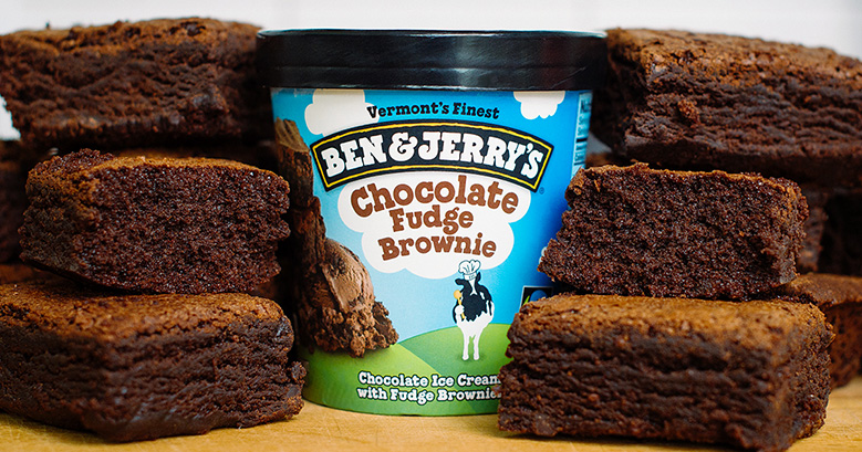 Ben & Jerry's Chocolate Fudge Brownie - Greyston Bakery